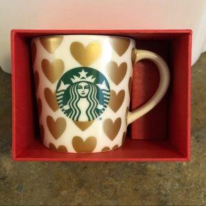 Starbucks Valentines Demitasse Espresso Mug 3oz